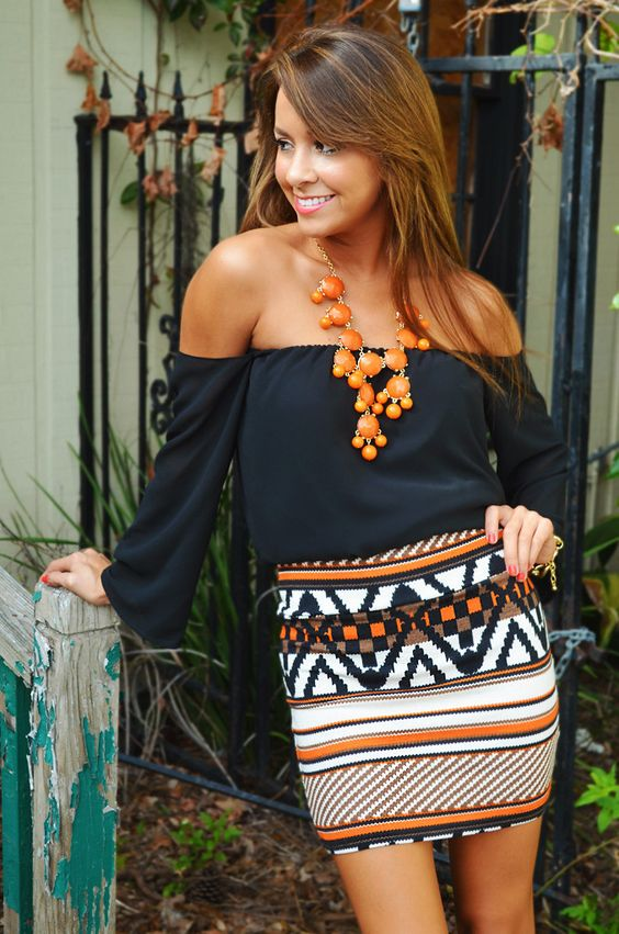Love everything about this.: Summer Outfit, Dream Closet, Cute Outfits, Aztec Skirt, Spring Summer, Fall Outfit, Tribal Skirts