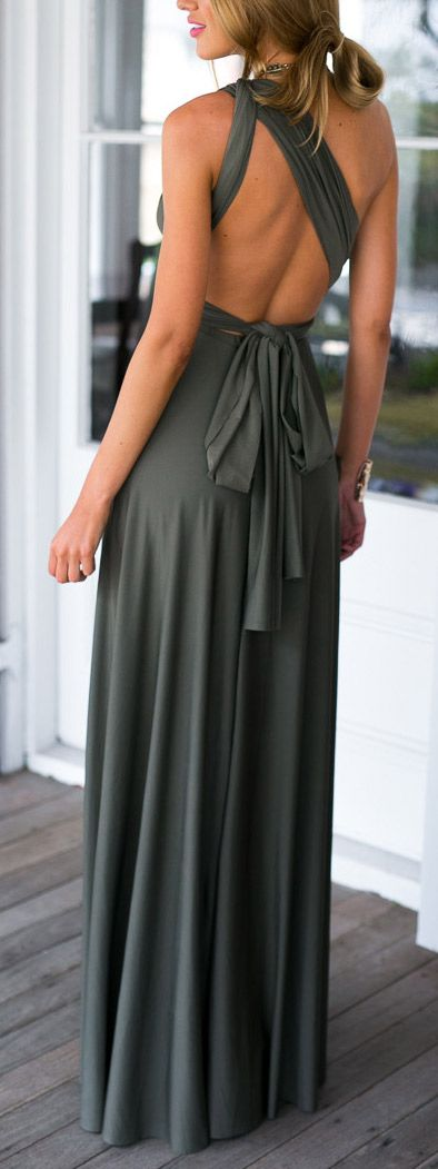 Olive jersey maxi: Maxi Dresses, Shianne Hairstyles, Clothes Style, Breezy Clothes, Bridesmaid Dresses, Clothes Fashion, Clothes Outfits Accessories, Clothes C Othes