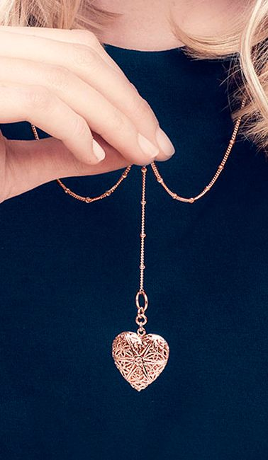 Heart locket. I desperately want this more than anything.