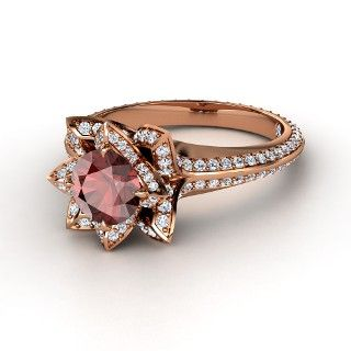 rose gold engagement ring I like this design for a ring to buy for myself. this looks more like a fashion ring then an engagement ring.