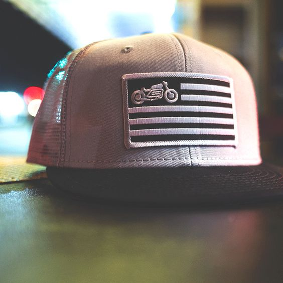 """""""United"""" mesh snap back hat from Scotch and Iron: Gunna Hat, Trucker Hats, Gear Scotch, Company Clothing, Scotch Iron, Scotch And Iron, Motorcycle Mesh"""