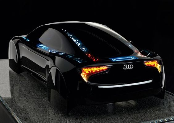 "Audi's ""Visions"" car light concept. Kind of Tron-ish. (dear future husband, start saving. we're getting this car.): Audi, Auto"