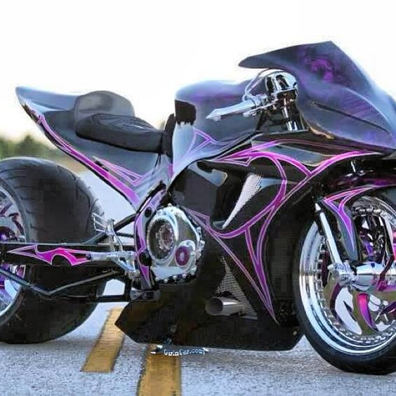 Custom Sports Bike- yes yes yes yes YESSSSS!!!! Omg.... Everything, even down to that rear tire!: