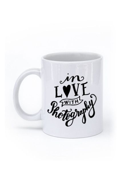 In Love with Photography Mug