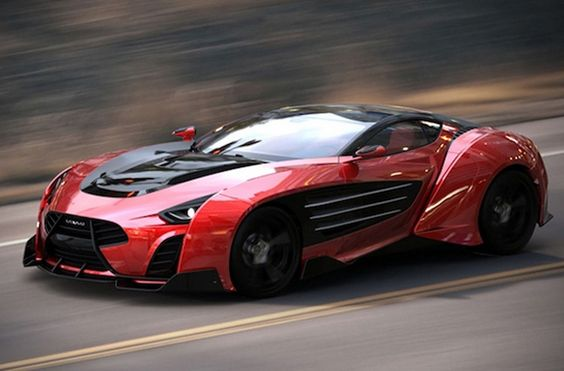 It's a BEAST - the new Lareki Epitome supercar concept