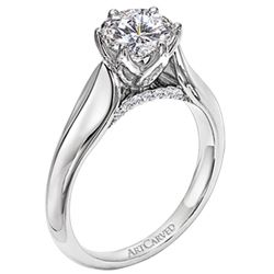 3rd CHOICE-  IN YELLOW GOLD... (We already have the center stone for the ring)