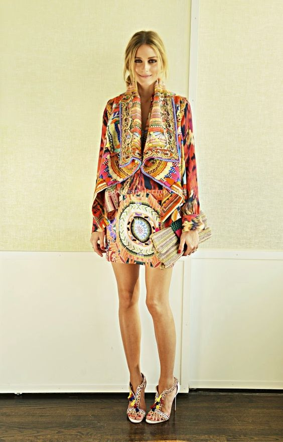 The Olivia Palermo Lookbook : Absolutely Stunning: Olivia Palermo