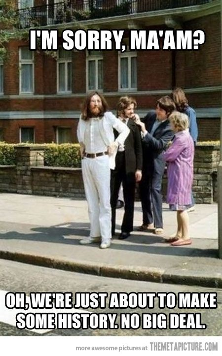 Awesome. Beatles right before the Abbey Road shoot.: History, The Beatles, Music, Thebeatles, Album Cover, Abbey Road, Photo, Abbeyroad, Roads