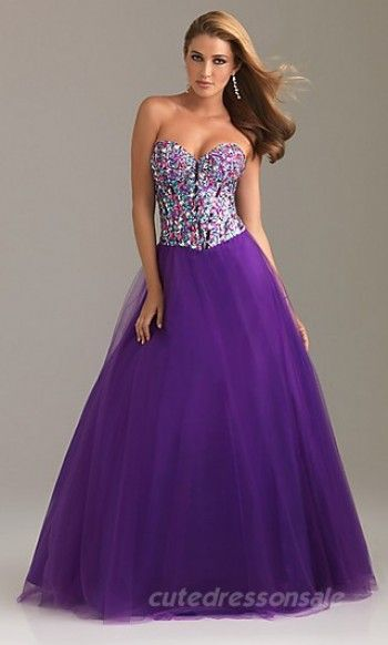 I love this dress it's sparkley and purple!! - Aary wants
