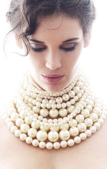 more and more pearls...