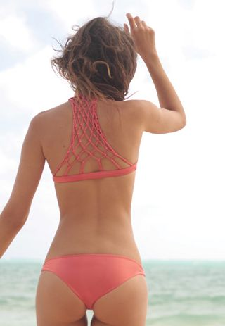 bathing suit. I like this, but I wish it covered more of the fanny. It doesn't leave much to the imagination, but I like the color and the back of the top!: Bathing Suits, Style, Swimwear, Tan Lines, Swimsuits, Bikinis, Bathingsuits, Top