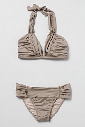 Gorgeous Bathing suit from Anthropologie needs a rockin' body to wear it (I'm motivating myself through this little number): Style, Color, Bikinis, Triangle Bikini, Anthropologie Modern