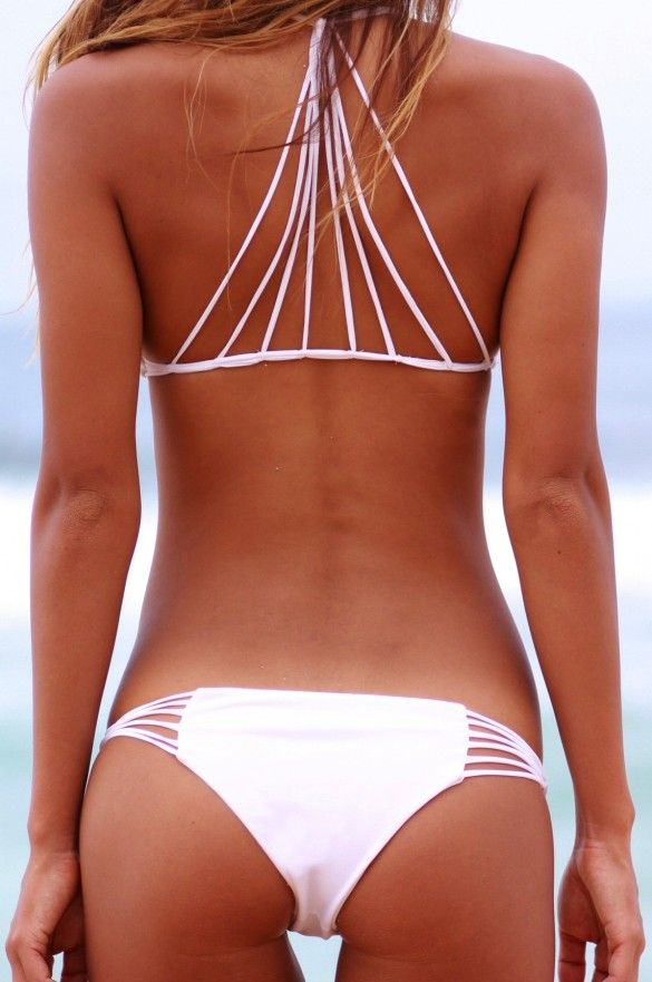 Mikoh Swimwear Lanai Bottom in Multiple Colors: White Bikinis, Bathing Suits, Fashion, Style, Swimsuits, Swimwear, Bathingsuits