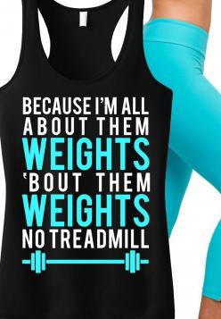 """Bad Ass #Workout Tank! """"All About Them Weights"""" #Gym tank top by NoBullWoman Apparel. Only $24.99, click here to buy http://nobullwoman-apparel.com/collections/fitness-tanks-workout-shirts/products/all-about-them-weights-black-with-teal-tank: Work"""
