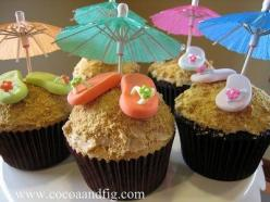 Beach Cupcakes: Summer Cupcakes, Food, Flip Flops, Cup Cake, Flip Flop, Cupcake Idea, Party Ideas, Flop Cupcakes, Beach Cupcakes