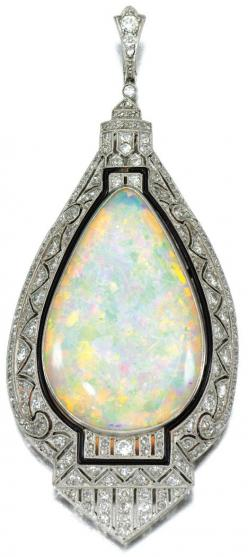 Diamonds in the Library: Opal and diamond pendant. I want this!: Pendants, Opal Jewelry, Diamonds, Antique Jewelry, Diamond Pendant, Opals, Art Deco, Vintage Jewelry