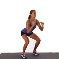 Feel the Burn! 7 Ways to Work Your Body With Squats: Squats — you love 'em, you hate 'em, or you love to hate 'em.: Body Workouts, Squat Challenge, To Work, Squats, Exercise, Printable Squat, Popsugar Fitness, Basic Squat, Butt Workout
