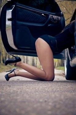 he just pulled over, opened his door, and told me to come around to his side....: Girls, Sexy Quotes, Naughty, Cars, Secret, Hot, Nice, Heels, Talk Dirty