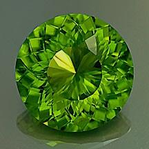 "Peridot Round ""Portuguese"" Style Cut: Cut Gemstones, Gem Stones, ️ ️Gemstones ️ ️, Gemstones Crystals, Lapidary Gemstones, Faceted Gemstones, Carved Gemstones, Birthstone Color, Gems Rocks"