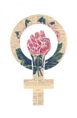 Respect, equality, women's liberation. Feminism Power Fist / Raised Fist Art Print: Equality, Art Prints, Fist Art, Feminist Quote, Women S Liberation, Feminist Tattoo