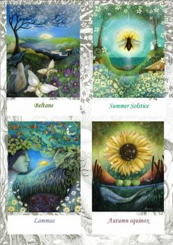 The Earth Festivals - Beltane - Summer Solstice - Lammas - Autumn Equinox: Angels Art, Seasons, Amanda Clark, Clarks, Pagan, Angel Art, Earth Angels, Celtic Festivals