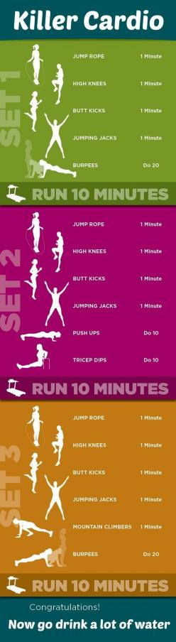 this is a tough cardio workout- do on the track, dips on the bleachers- bring water bottles: Daily Workout Routine, Best Workout Routine, Best Workout Plan, Intense Workout, Bleacher Workout, Fitness Workout, Daily Workout Plan, Cardio Workout Routine, Be