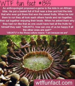 """UBUNTU"" - words meaning, African cultures and stories  MORE OF WTF FUN  are coming HERE  words, culture and fun facts: Awesome 3, Wtf Facts, Wtf Fun Facts, Awwwww If, Weird Facts, Thought, Funfacts, Random Facts, Pretty Awesome"