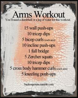Upper body: Upper Body, Fitness, Weight Loss, Work Outs, Exercise, Health, Single Dumbbell, Arm Workouts