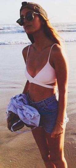 x that bathing suit is so freaking adorable! I'd love to have a wrap around top: Pink Swimsuits, Summer Day Outfits, Cute Swimsuits, Spring Break Outfits Beach, Beachy Outfits, Sweet Summertime