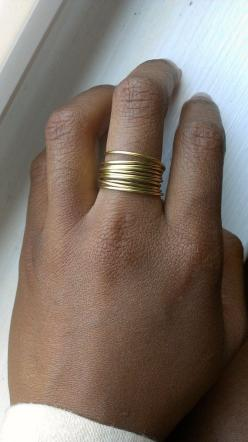 10 Stackable Dainty Hipster Rings by LilliesnEmeralds on Etsy, $9.00: Dainty Ring
