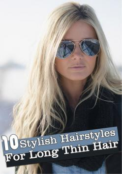 10 Stylish Hairstyles For Long Thin Hair, now if I could only be patient enough to let my hair grow!: Hair Colors, Hairstyles, Hair Styles, Blonde Hair, Long Hair, Hair Beauty, Bad Hair, Hair Colour