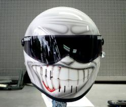 15 Cool and Creative Motorcycle Helmet Designs: Motorcycles, Helmet Designs, Stuff, Bikes, Custom Helmet, Cars, Smiley, Motorcycle Helmets, Bike Helmets