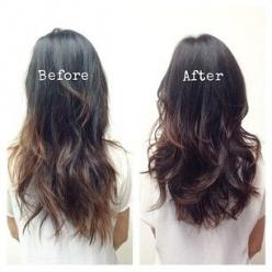 17 Tricks To Make Thin Hair Look Seriously Thick: Fine Long Hair Style, Long Fine Hair Style, Thin Hair Cut, Thin Hair Hairstyle, Haircut Layer, Long Hair Cut