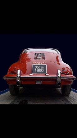 1960 Porsche 356 -: Cars Collection, Red, Classic Cars, Auto, Vintage Porsche, Porsche 356, 1960 Porsche