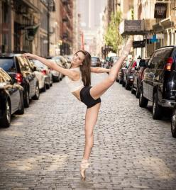22 Incredible Photos Of Ballerinas In Urban Cityscapes Of New York City (photos by Luis Pons): Bryn Michaels in SoHo.: Advanced Ballet, Ballet Dancers, Urban Cityscapes, Bryn Michaels, Ballerina, Dance Photo, Incredible Photos, Dance Ballet