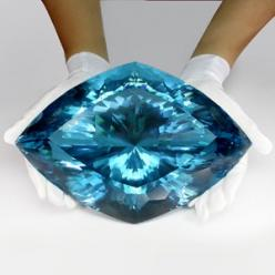 26100cts - World's Rarest & Largest Collector's Gem -Super Swiss Blue Topaz - NR: Collector S Gem, Blue Topaz, Gems, 26100Cts, World S Rarest, Gem Super, Largest Collector S, Super Swiss, Swiss Blue