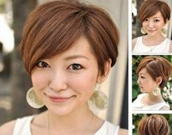 30 Very Best Brief Hairstyles For Round Faces | Pinkous: Hair Ideas, Pixie Cuts, Short Hairstyles, Bob Hairstyles, Round Faces, Hair Style, Shorthair, Haircut