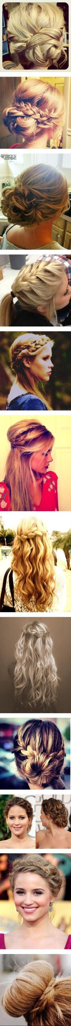 """Braided Hair Buns"" @Brittany Grimes @Betsy Caiazza @Taylor DeLuca @Sterling Cullen @Jennifer Horvath: Bridesmaid Updo Hairstyles, Hair Styles, Buns Hairstyle, Updos, Braided Hairstyles, Wedding Hairstyles, Hair Buns, Cute Hairstyles"