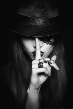 """Three can keep a secret, if two of them are dead."" - Benjamin Franklin: Photos, Hats, Fashion, Art, White, Shhh, Photography, Black"
