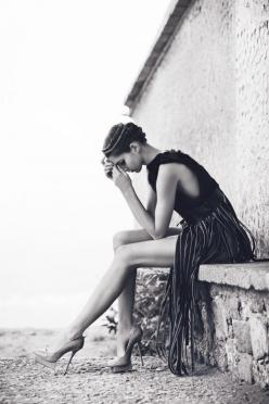 """Who knows where inspiration comes from. Perhaps it comes from desperation."" Amy Tan: Leg, B W, Dress, Beautiful, White, Fashion Photography, Beauty, Black"