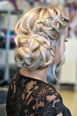5 Fantastic New Dance Hairstyles: Long Hair Styles for Prom: Braided Updo, Hairstyles, Hair Styles, Updos, Hair Do, Hair Updo, Braided Bun