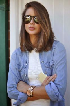 5 Hairstyles for Spring 2015: Hairstyles, Medium Length, Longbob, Hair Cut, Hair Style, Haircut, Long Bobs, Hair Color, Hair Length