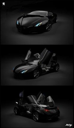 75 Concept Cars Of The Future Incredible Design - Designs Mag: Design Work, Conceptcars, Cars, Concept Vehicle, Dream Cars, Concept Cars, Industrial Design, Peugeot Concept