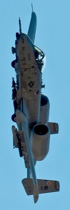 A-10 Thunderbolt. Best close-air ground support weapon in our arsenal. Was privileged to watch these awesome machines fly during early testing days. And go to training at Fairchild training center Long Island New York to work on them.: A 10 Thunderbolt, F