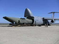 A big Lockheed eating a little Lockheed - C-5 Galaxy and C-130 Hercules cargo planes.: ️Airplanes ️, Galaxies, C5 Galaxy, Aircraft, Charge Plans, Airports Airplanes, Photo