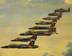 A collection BLUE ANGELS fighter jets Through The Years...i follow back @ tonygqusa I follow back.: Aviation, Flight, Military Aircraft, Angels Planes, Angels Aircrafts, A 4 Skyhawk, Airplanes Helicopters, Navy Blue, Blue Angels