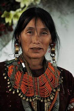 A Konyak Naga lady adorned in traditional finery. (Nagaland, NE India): Naga Lady, Ne India, Ethnic, Traditional Finery, Beautiful People, Naga Woman, Culture