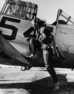 A pilot of the U.S. Women's Air Force Service at Avenger Field, Texas, in 1943.: Airforce, Peter O'Toole, Pilots, Air Force, Force Service, Photo
