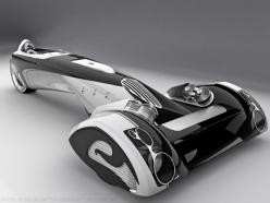 A razor or a sportscar?  Created by Italian industrial designer Paolo De Giusti.: Concept, Bike, Paul De, Sport Cars, Peugeot Egochine, Vehicles, Concept Cars
