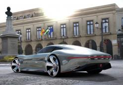 A super cool mercedes concept car! Mercedes vision granturismo is this a combination of the batmobile and a sls amg?: Mercedes Benz, Classic Cars, Gt6 Launch, Auto, Concept Cars, Photo, Wheel Drives